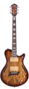 Michael Kelly Hybrid Special - Spalted Maple Burst