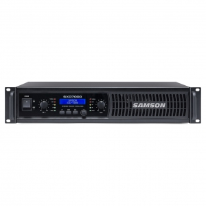 Samson SXD7000 Power Amplifier with DSP