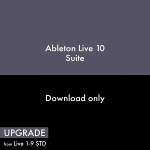 Ableton Live 10 Suite, UPG from Live 1-9 Standard (Full Download)