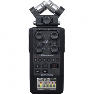 Zoom H6 (Black) - 6 Track Audio Recorder