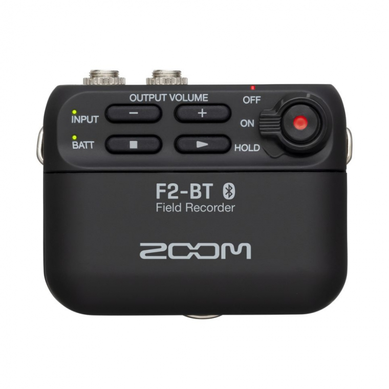 Zoom F2-BT Field Recorder and Lavalier Microphone With Bluetooth