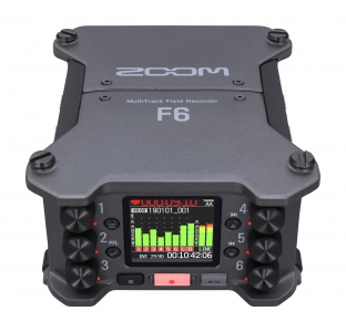 Zoom F6 Professional Field Recorder