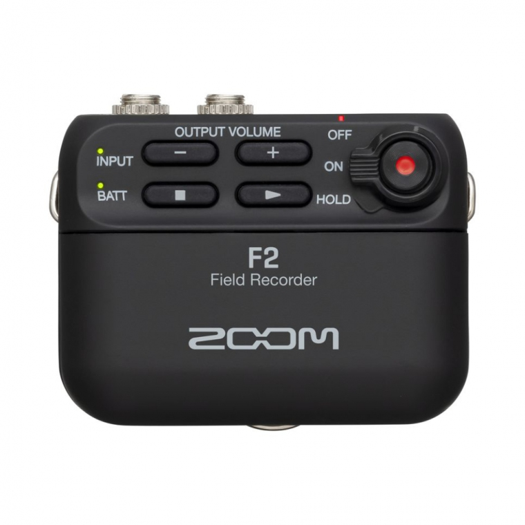 Zoom F2 Field Recorder with Lavalier Microphone