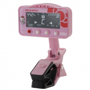 Korg Dolcetto AW-3M Hello Kitty Siries Clip-on tuner/metronome for orchestral instruments