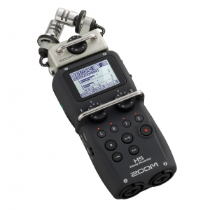 Zoom H5 Handheld recorder with interchangeable microphone system