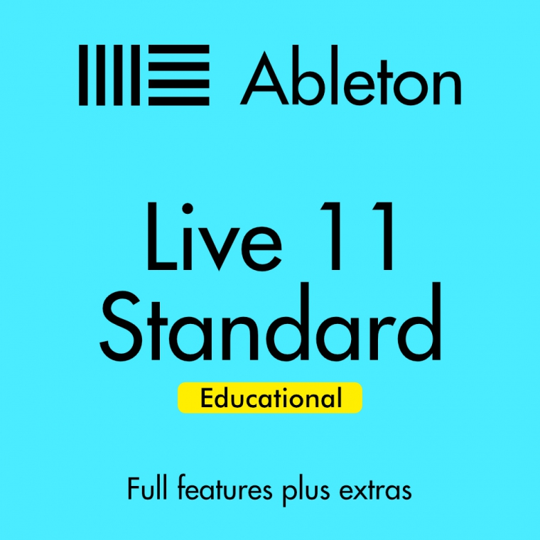Ableton Live 11 Standard. EDU (Full Download) - Music Production Software (DAW)