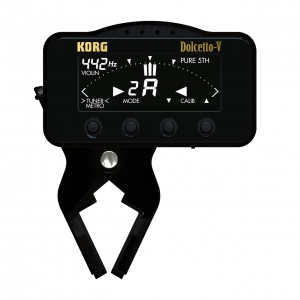 Korg Dolcetto-V AW-3V - Clip-on tuner/metronome for violin and violan