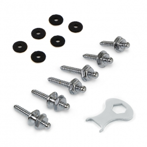 LOXX Screw Set (Chrome)