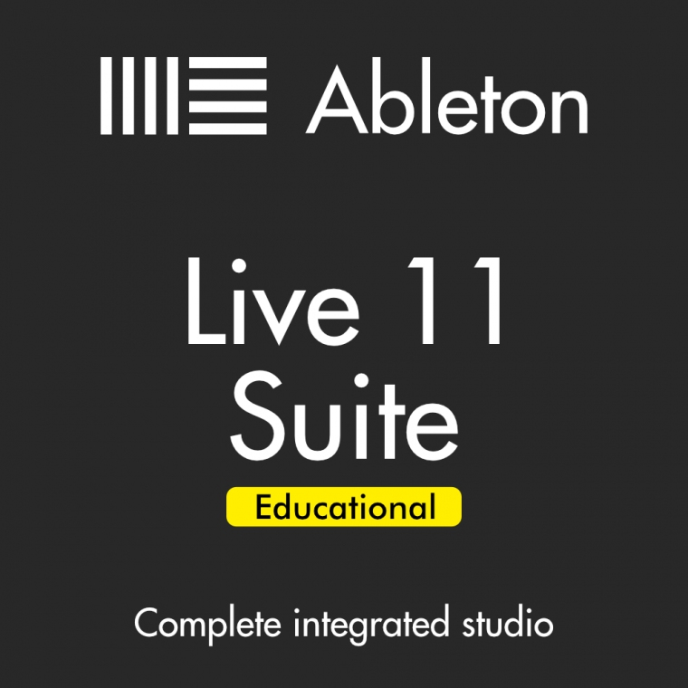 Ableton Live 11 Suite, EDU (Full Download) - Music Production Software (DAW)