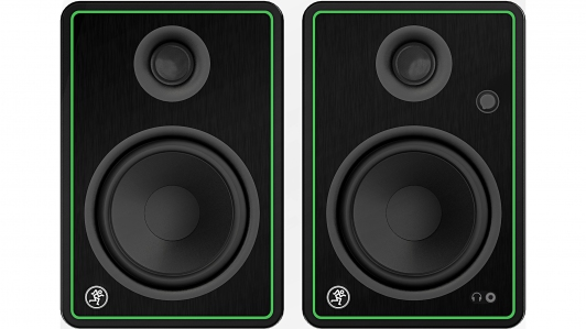 Mackie CR5-XBT (Pair) 5 inch Creative Reference Multimedia Monitors with Bluetooth (CR5XBT / CR5-XBT)