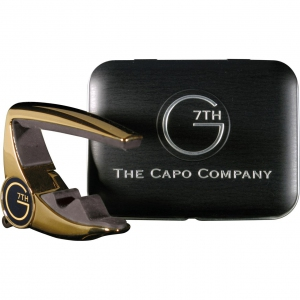 G7th Special Edition Performance Capo Gold with Tin Case