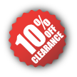 Clearance-10%Off