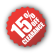 Clearance-15%Off