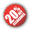 Clearance-20%Off