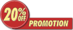 Promotion - 20% Off