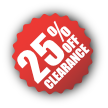 Clearance-25%Off