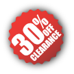 Clearance-30%Off