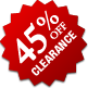 Clearance - 45% Off