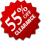 Clearance - 55% Off