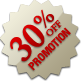 Promotion - 30% Off