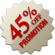 Promotion - 45% Off
